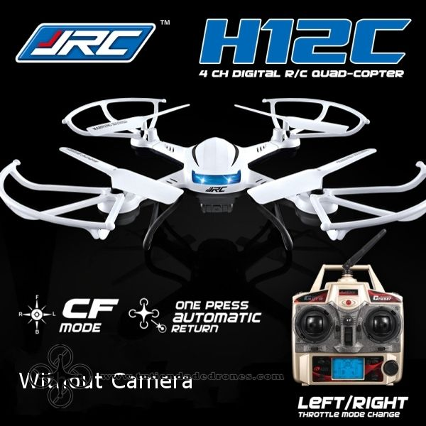 Dron JJRC H12C Modo Headless One Key Return RC Quadcóptero sin Cámara -- 79,97€