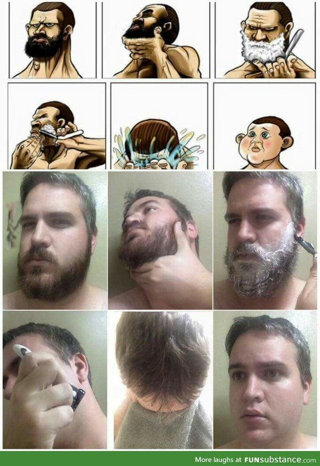 NEVER shave. Never. Just never Funny memes, Shaving, Funny
