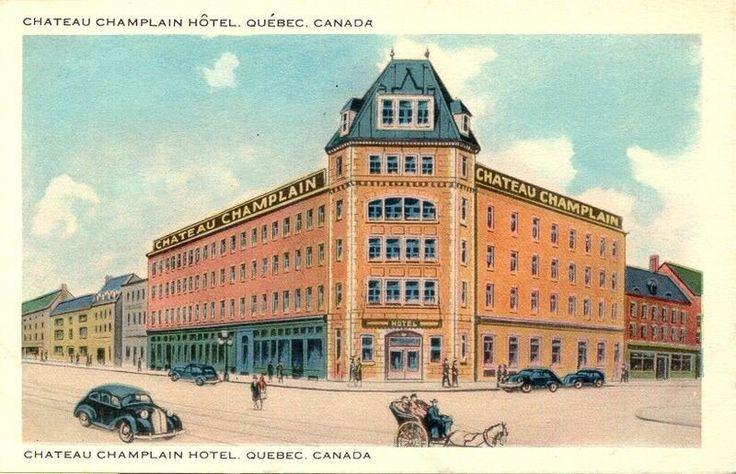 Ville de Québec, quartier Vieux-Québec basse-ville [entre 1900 et 1965], Collection Magella Bureau, P547,S1,SS1,SSS1,D1-15, Bibliothèque et Archives nationales du  Québec. http://www.banq.qc.ca/