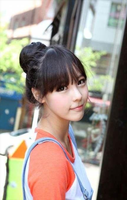 57 Ideas hairstyles korean bun