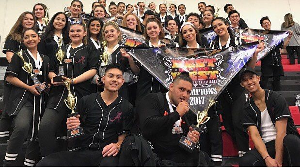 The dance teams got eight 1st place banners at Best of the West at Tustin High School. Way to go! #dance #hiphopdance #lyrical #pom #bestofthewest