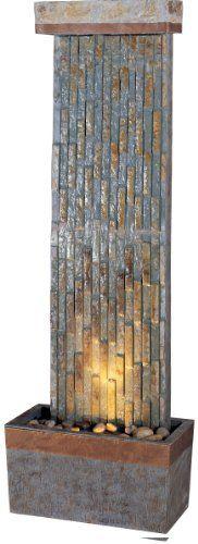 29 best Slate floor fountain images on Pinterest   Indoor fountain ...