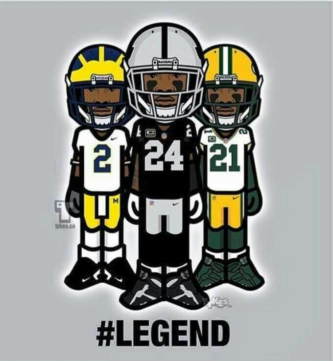 Charles Woodson Michigan  Packers Raiders
