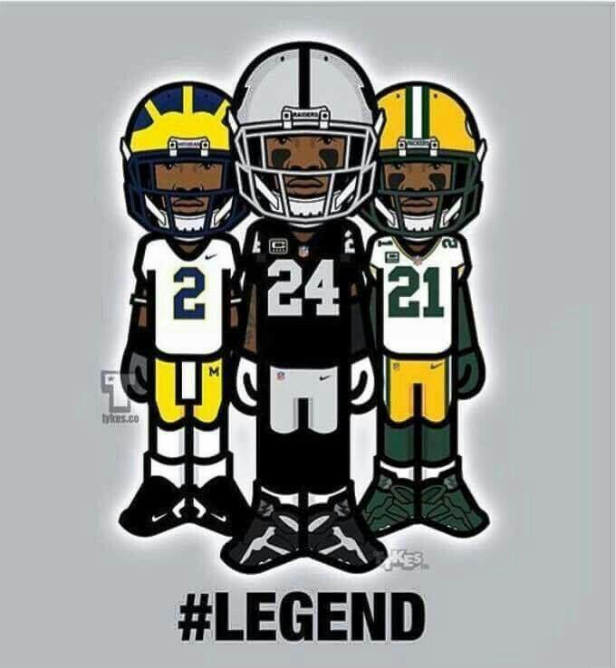 Charles Woodson Michigan  Packers Raiders