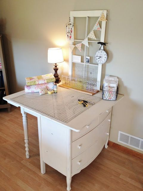 Stay organized and productive with these 15 Amazing Sewing Table Designs. Each was made with your creative space in mind.