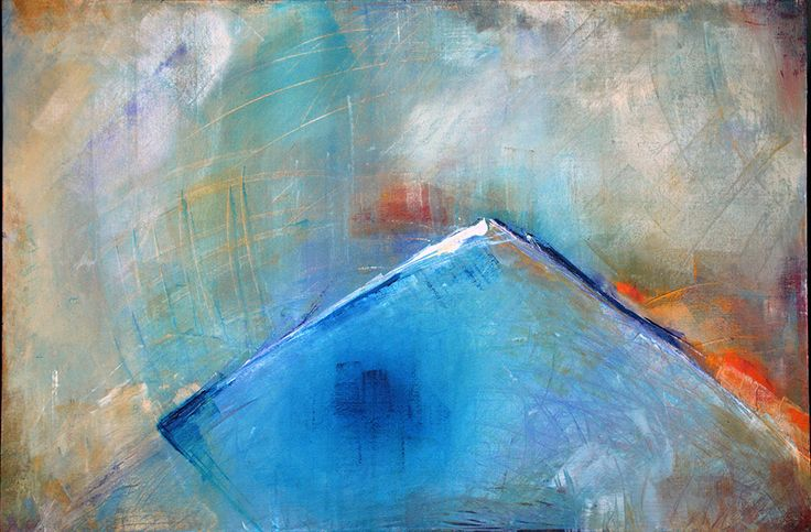 'Edge' by Uxbridge Ontario artist Carolyn Bather. Her inspiration comes from…