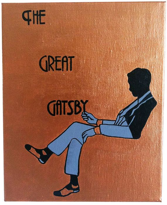 60 best g r e a t g a t s b y images on pinterest book covers handpainted interpretation of the great gatsby book cover use coupon code pinterest for free shipping fandeluxe Images