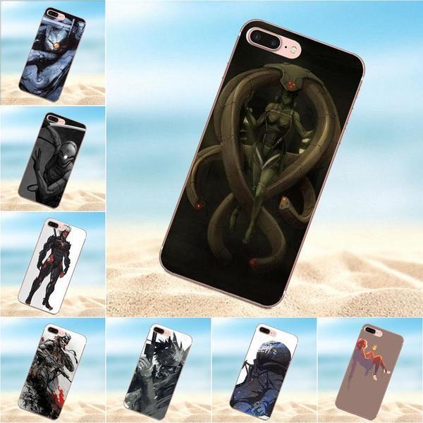 coque iphone 8 metal gear solid
