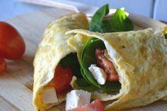 Share Tweet Pin Mail Om nog even bij de gezonde recepten te blijven heb ik deze super lekkere eiwrap gemaakt! De eiwrapbevat weinig koolhydraten ...