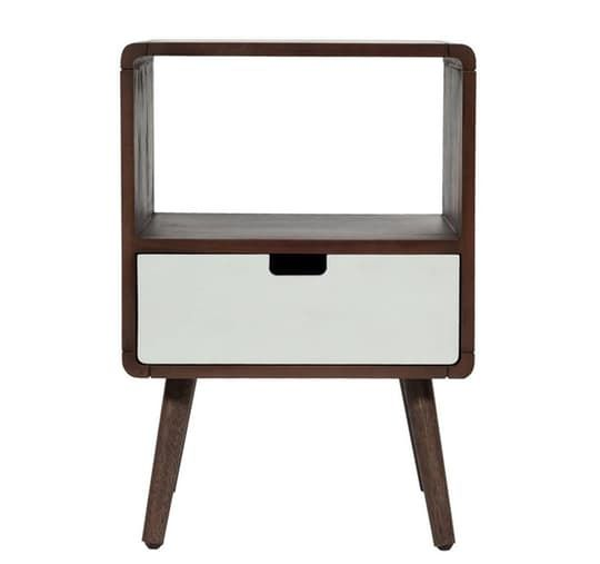 1-Drawer Midcentury Kids Nightstand