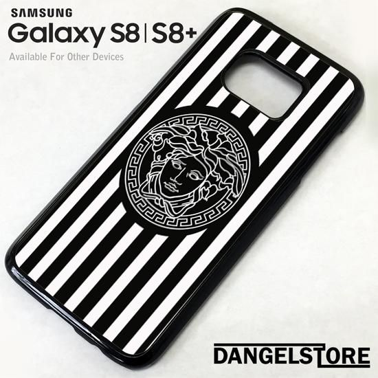 White Strips Versace For Samsung S8 | S8 Plus Case