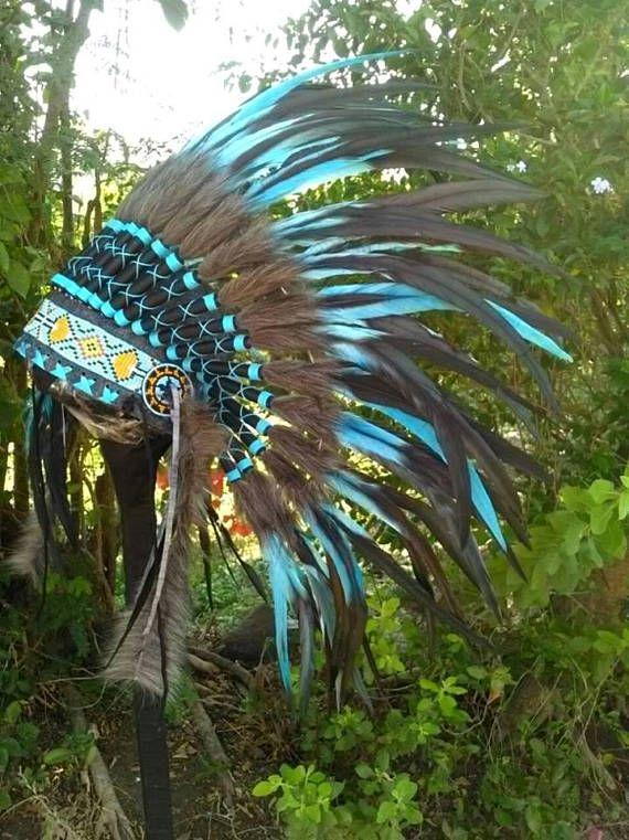 Baby Halloween Native American inspired Headdress Indian