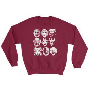 Tragedy - Crewneck Sweatshirts Red