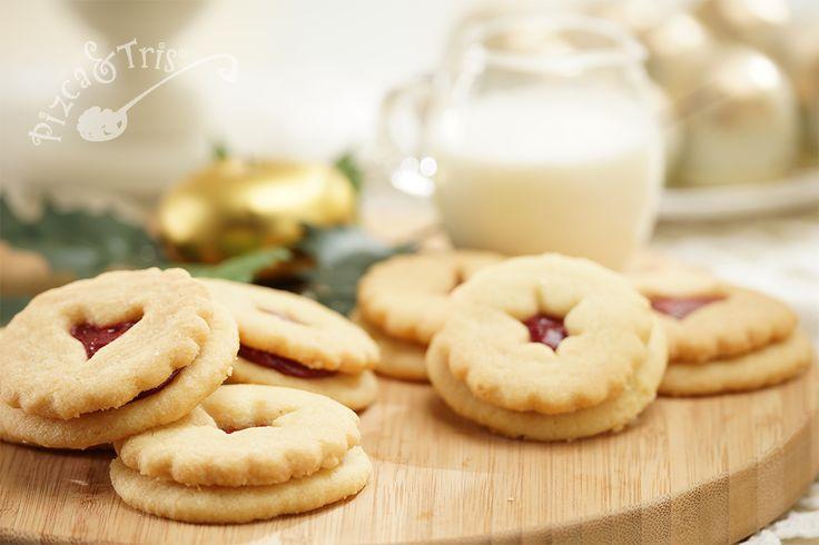 Galletas nina con relleno de mora #Cookies