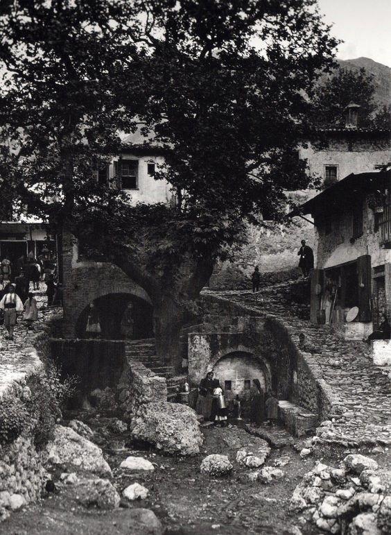 Frederic Boissonas, photo | 1858-1946, France | Paramythia, Greece