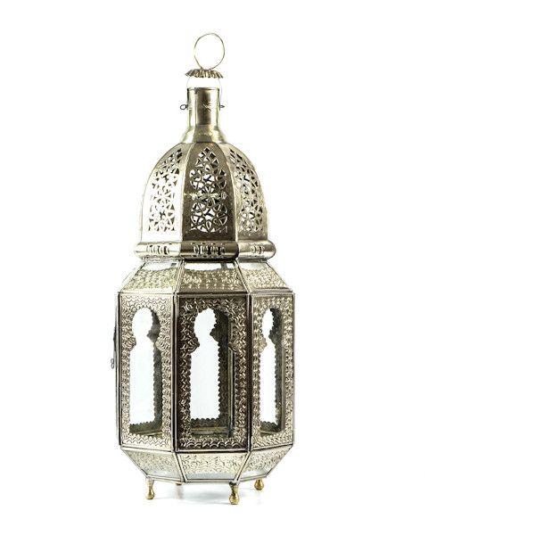 Lantern, Casablanca ($125) ❤ liked on Polyvore featuring home, home decor, candles & candleholders, handmade candle holders and handmade home decor