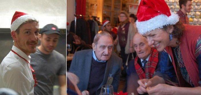 Café londrino servirá almoço de natal gratuito para idosos que vivem sozinhos