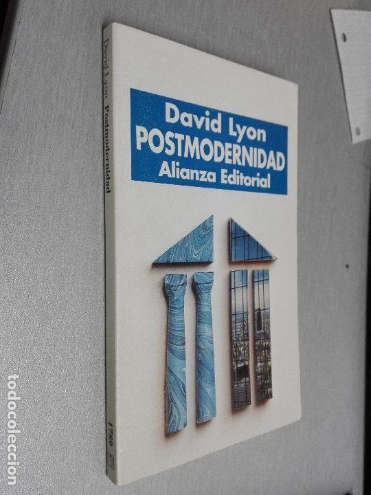 POSTMODERNIDAD / DAVID LYON / ALIANZA EDITORIAL 1997 - Foto 1