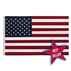 Picture of 3'x5' American Flag - Nylon Embroidered