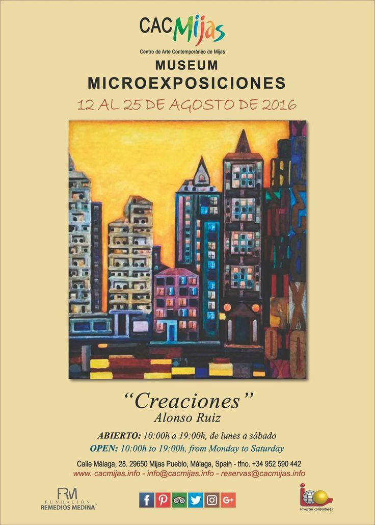 """MICROEXPOSICIONES:  """"Creaciones"""". Alonso Ruiz"""