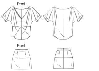 skirt with pockets!: Rachel Comey, Children Sewing, Sewing Skirts, Vogue Patterns, Voguepatterns, Skirts Patterns, Vogue 1247, Nice Skirts, Sewing Patterns