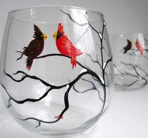22 best images about glass painting on pinterest hand for Best glass painting designs