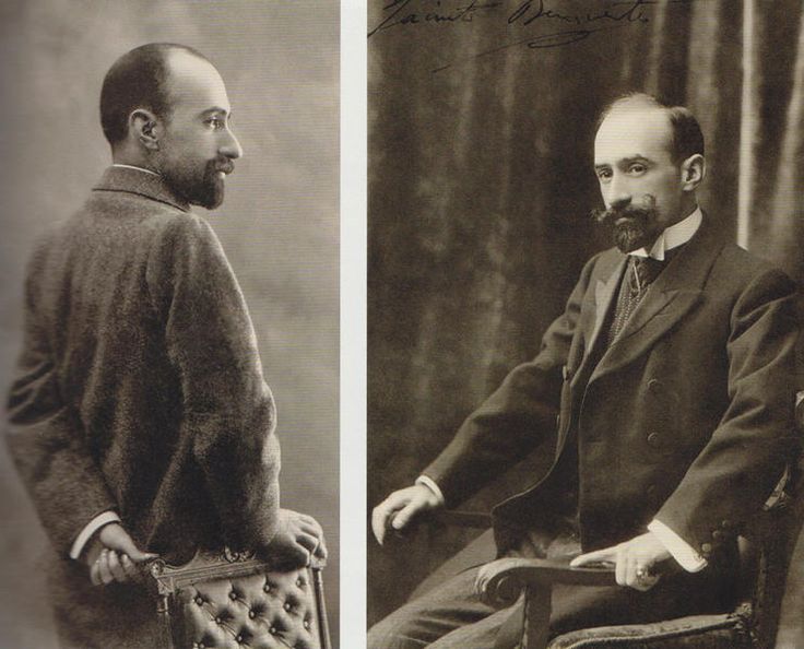Retratos de Jacinto Benavente. Tomados por Campúa y Ch. Franzen. Primeros años del siglo XX.