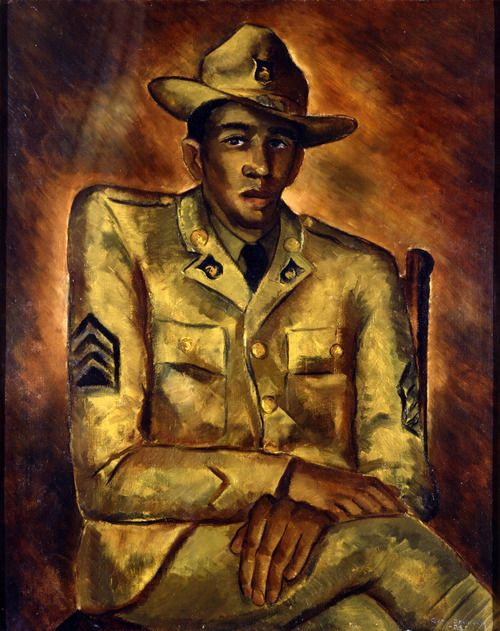 Negro Soldier, 1934 | by Malvin Gray Johnson