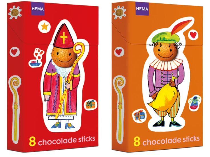 Sinterklaas verpakking made by Studio Kluif Projectmanager HEMA // Mathilde