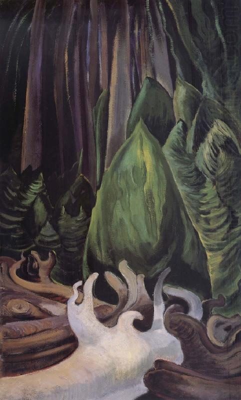 Sea Drift at the Edge of the Forest, 1931, Emily Carr
