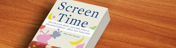 Screen Time by Lisa Guernsey: How Electronic Media – From Baby Videos to Educational Software – Affects Your Young Child | www.nolaParent.com