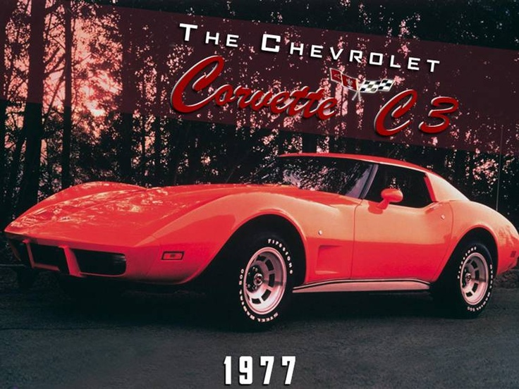 The 1977 #Corvette C3... Wrap your arms around this lady in red. #TheLastStand