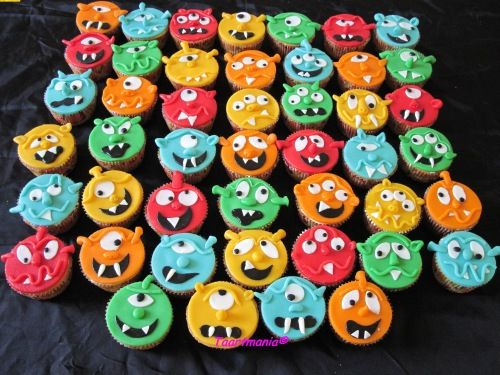Cupcakes monster