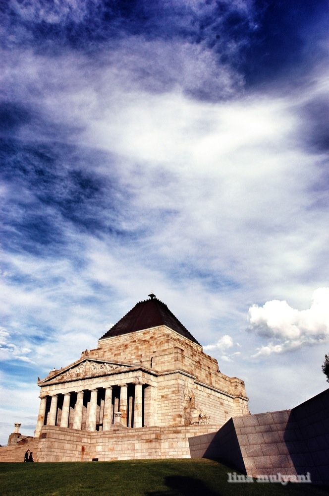 Shrine of Remembrance - Melbourne, Australia