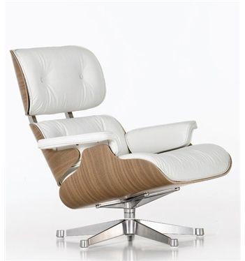 Vitra Eames Lounge Chair White Version 412 094 22