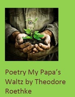 "the unclear use of language in the poem my papas waltz by theodore roethke Hansen assignment 2 my papa s  traumatic repression of a waltz in theodore roethke's poem, my papa  ""my papas' waltz"" in the poem my papa's waltz."