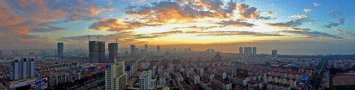 Panorama, Yantai, Sky
