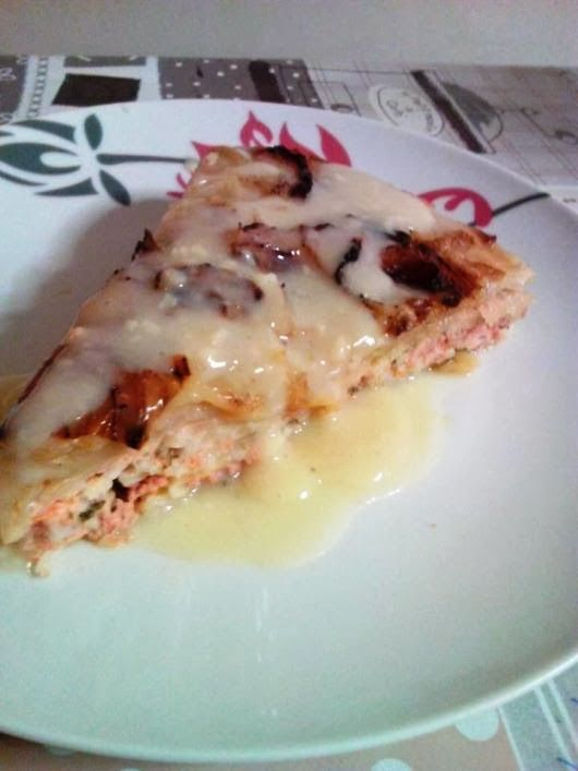 H μάνα του ... λόχου: Λαχανοντολμαδόπιτα με κρέμα αβγολέμονο