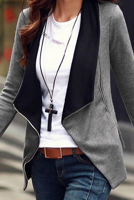 Trendy fashion at an affordable price. Great jacket!