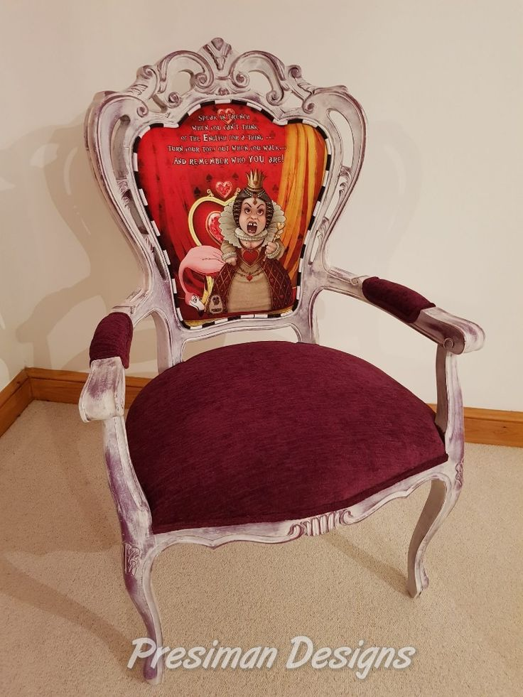 The Presiman Designs Queen of Hearts Chair