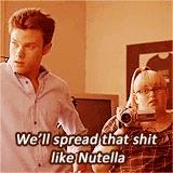 Chris Colfer and Rebel Wilson in Struck by Lightening.