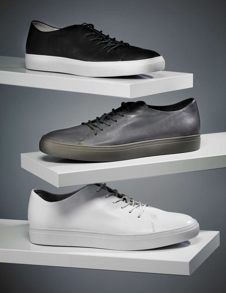 Yngve sneakers-Men's casual shoes in calf leather. Full leather interior. Waxed rounded cotton laces. Rubber outsole.