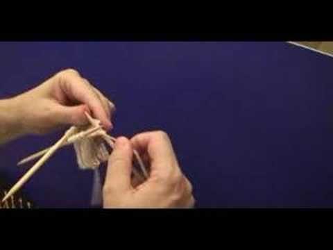 ▶ Como fazer meias de tricô - 1ª Parte - YouTube