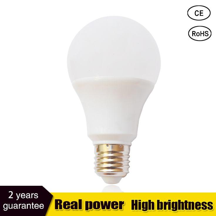 Heetech led lamp e27 led bulb B22 3W 5W 7W 9W 12W 15W 110v 220V smd2835 led light bulb Lampada Cold Warm White Spotlight light