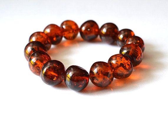 Baltic Amber Bracelet Amber Jewelry by KARUBA on Etsy, $168.00