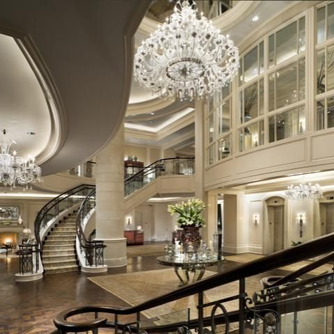 The St. Regis Atlanta, Interior Design by HBA / Hirsch Bedner Associates