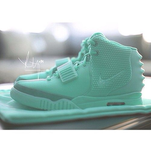 Tiffany Mint Air Yeezy 2 Custom.* DiamondB! Pinned *