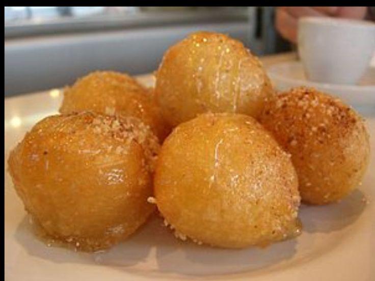Guy Fieri Loukamades Ballz http://www.foodnetwork.com/recipes/guys-honey-ballz-loukomades-recipe/index.html