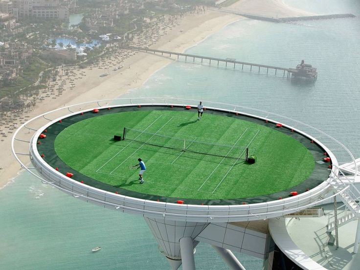 9 of the Most Stunning Tennis Courts from Around the Globe - The Chromologist