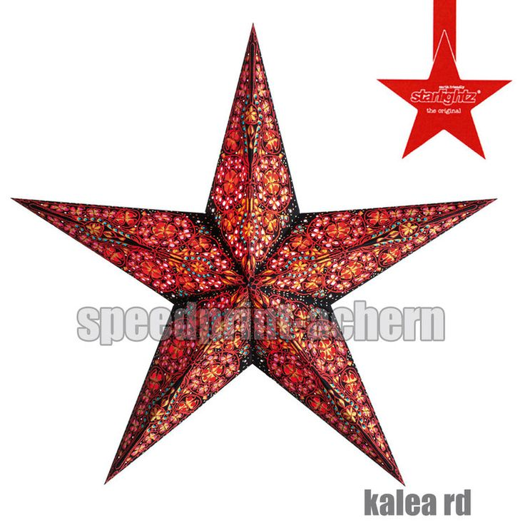 STARLIGHTZ Kalea Red / Amber / Blue 5 Spitzen - M